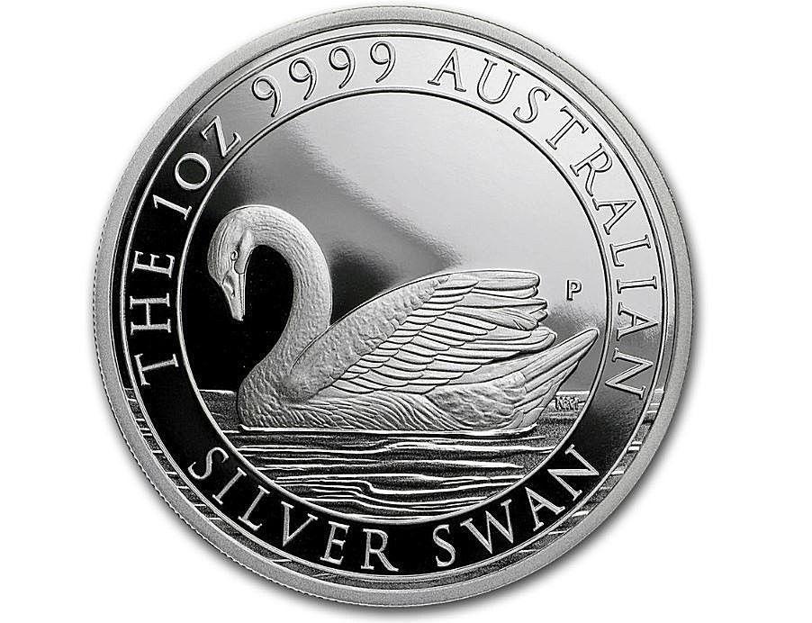 2018 Australia 1 Oz Silver Swan Proof Coin W Box Coa Perthmint