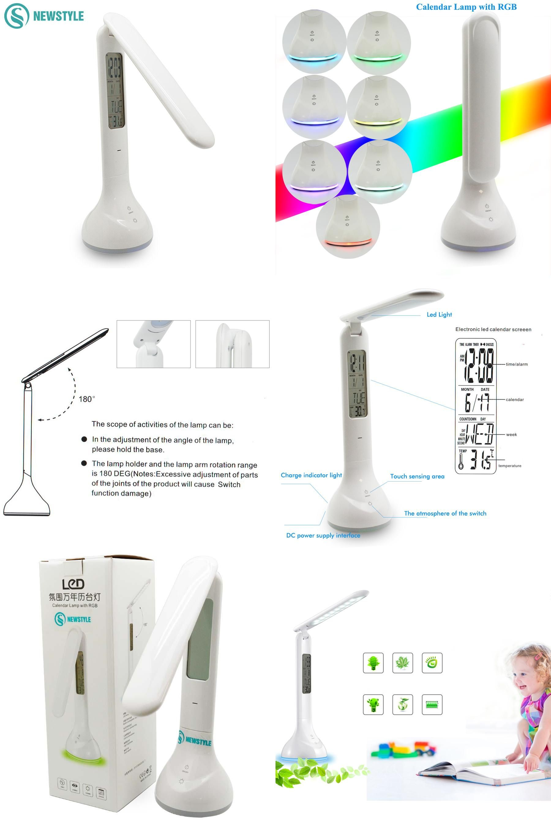 visit to foldable dimmable led desk lamp 4w table light with