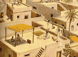 La arquitectura del antiguo Egipto casas
