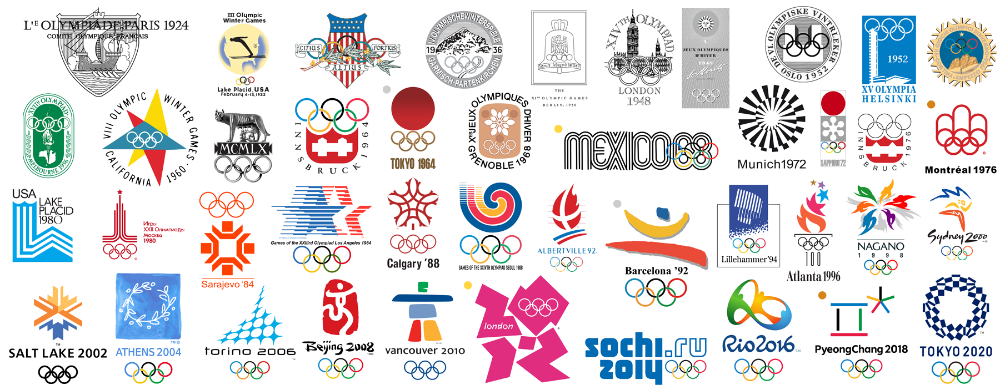 The best (and worst) Olympic logos in history in 2020 ...