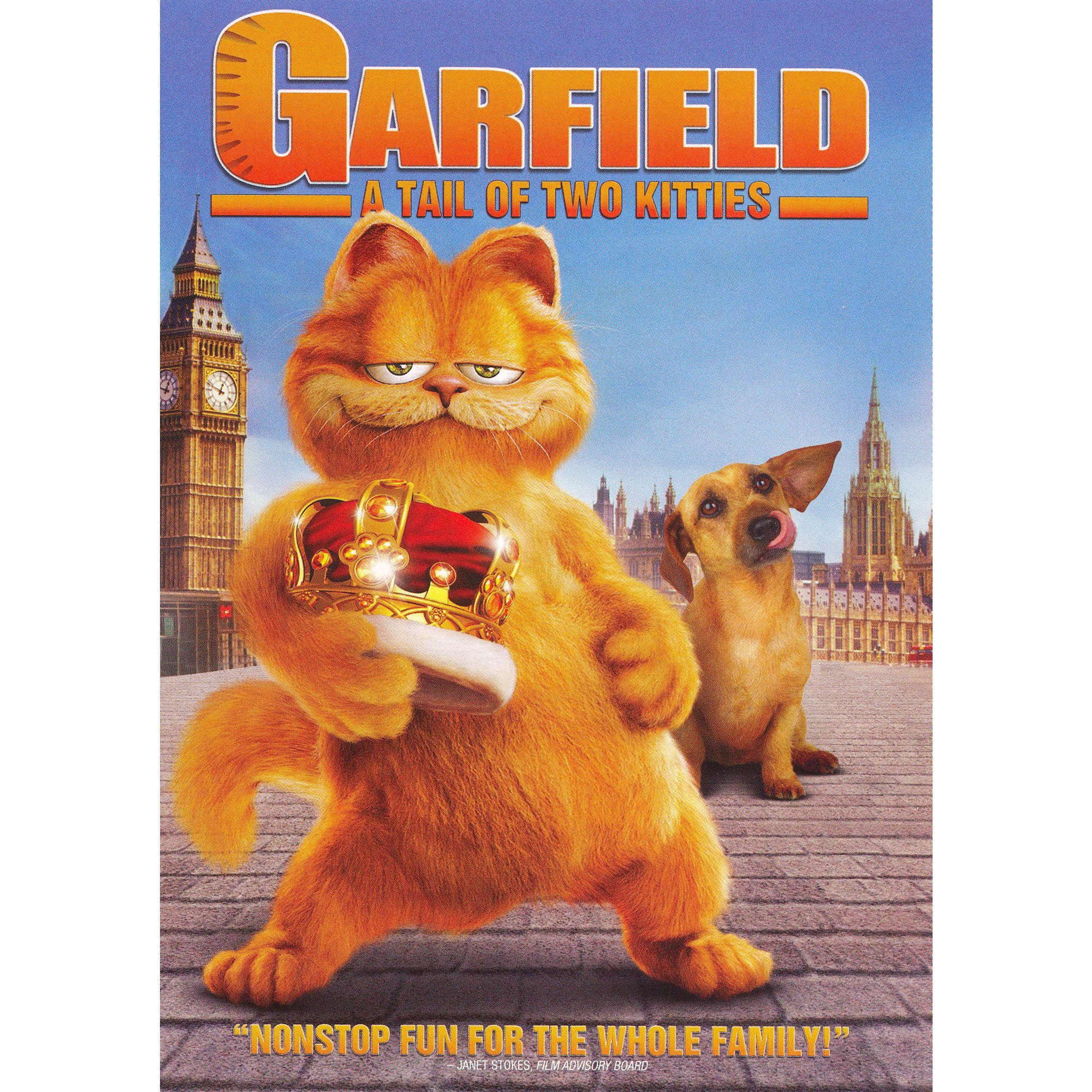 Garfield A Tail Of Two Kitties Dvd Video Com Imagens