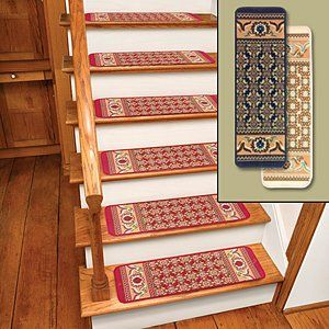 Http Www Slip Resistant Solutions Com Fix Slippery Stairs Html Ivory Rug Carpet Stair Treads Set Of 12 Cts1 Carpet Stair Treads Rugs On Carpet Burgundy Rugs
