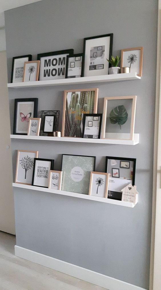 41 Leichte Möglichkeiten, eine leere Wand zu dekorieren - LoveIn Home - Fitness GYM - My Blog - My B...