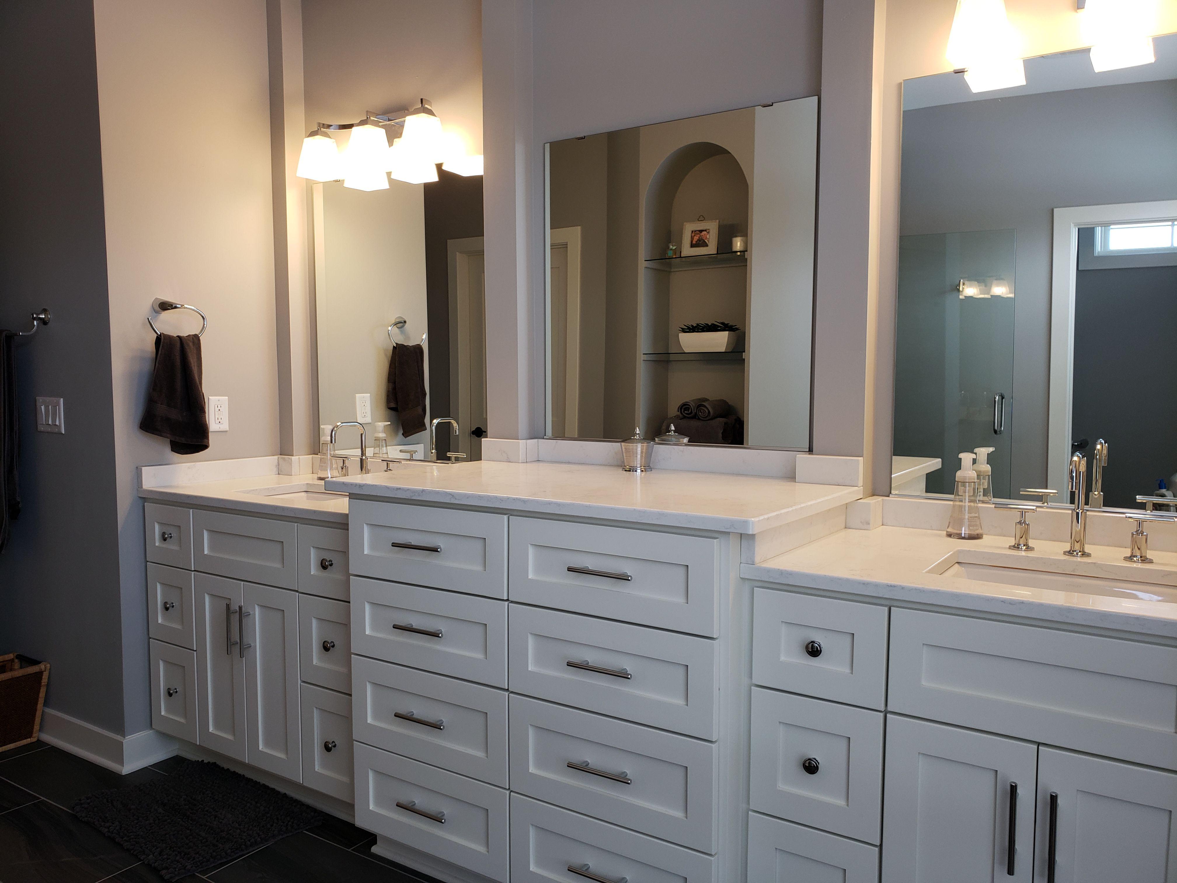 Master Bathroom Vanities Dual Vanity Shaker Style Cabinets White Cabinets Shaker Style Cabinets Master Bathroom Vanities Shaker Style [ 3024 x 4032 Pixel ]