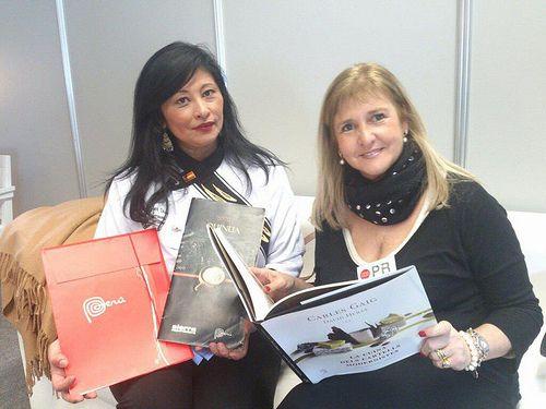 Así comenzó mi andadura con la Quinua, y el Perú, Irina C.Herrera y Alejandra Feldman