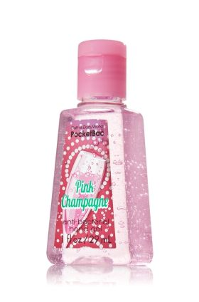 Pink Champagne Pocketbac Sanitizing Hand Gel Anti Bacterial