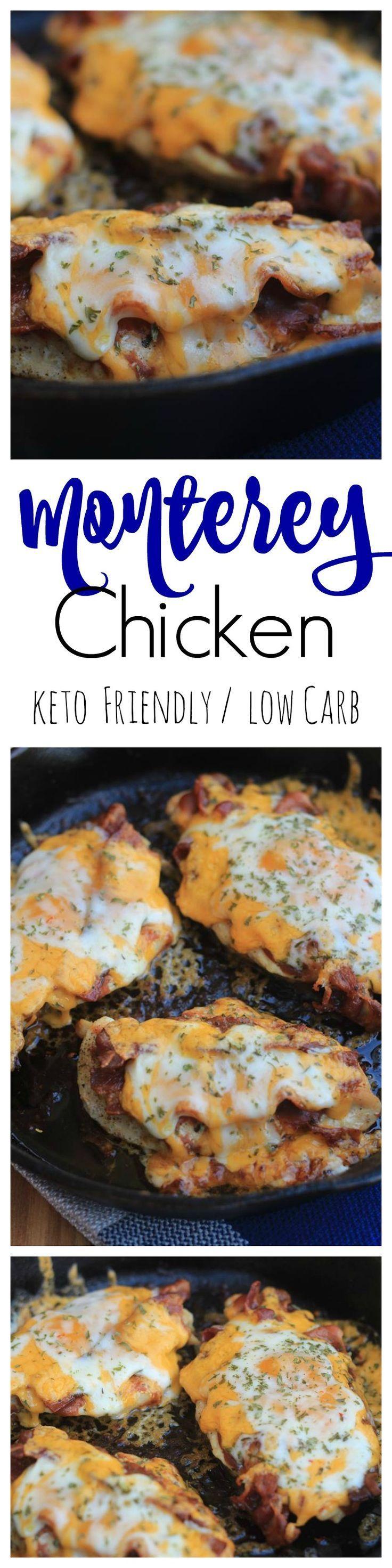 Monterey Chicken keto/Low Carb / keto Chicken recipe /low carb recipe / lchf / Low Carb high fat / keto easy recipe / low carb easy recipe #keto #LowCarb #LCHF #ketogenic #recipes #kaseytrenum
