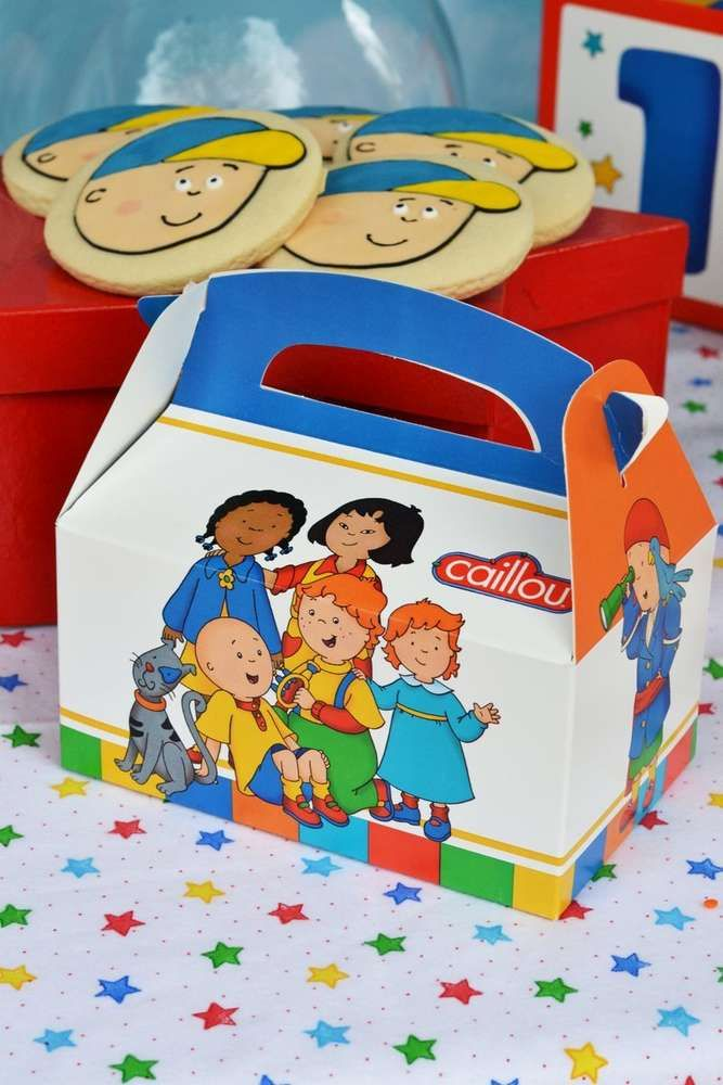 Caillou Birthday Party Ideas   Photo 1 of 33   Catch My Party