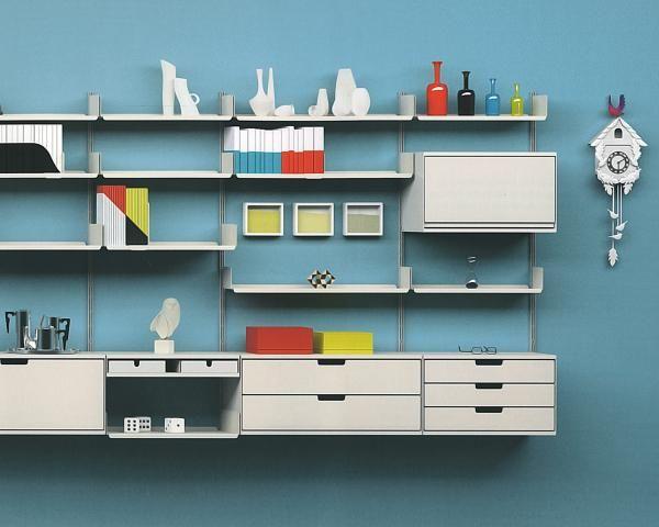 dieter rams regalsystem 606 b r a u n d i e t e r r a m s. Black Bedroom Furniture Sets. Home Design Ideas