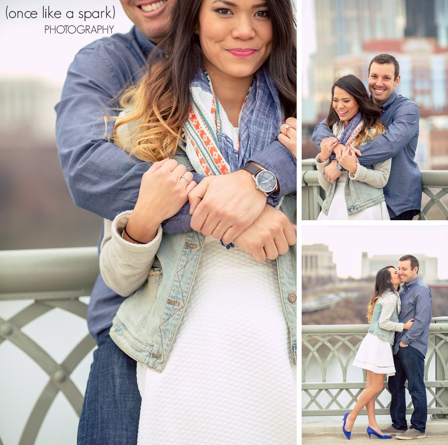 Wedding Hairstyle Nashville: Highlights :: Christina + Ryan's Engagement Shoot In