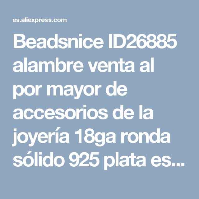 Beadsnice ID26885 alambre venta al por mayor de accesorios de la ...