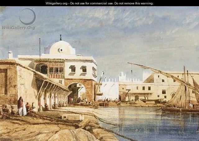 Alg rie peintre anglais william wyld 1806 1889 huile for Artiste peintre anglais