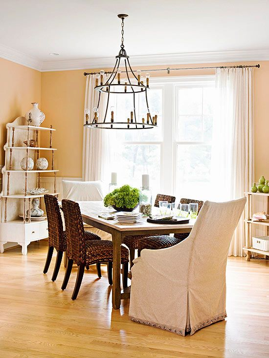 Decorating With Yellow: Walls, Accessories, And Accents. Dining Room  ColorsFormal Dining RoomsDining Room TablesDining ...