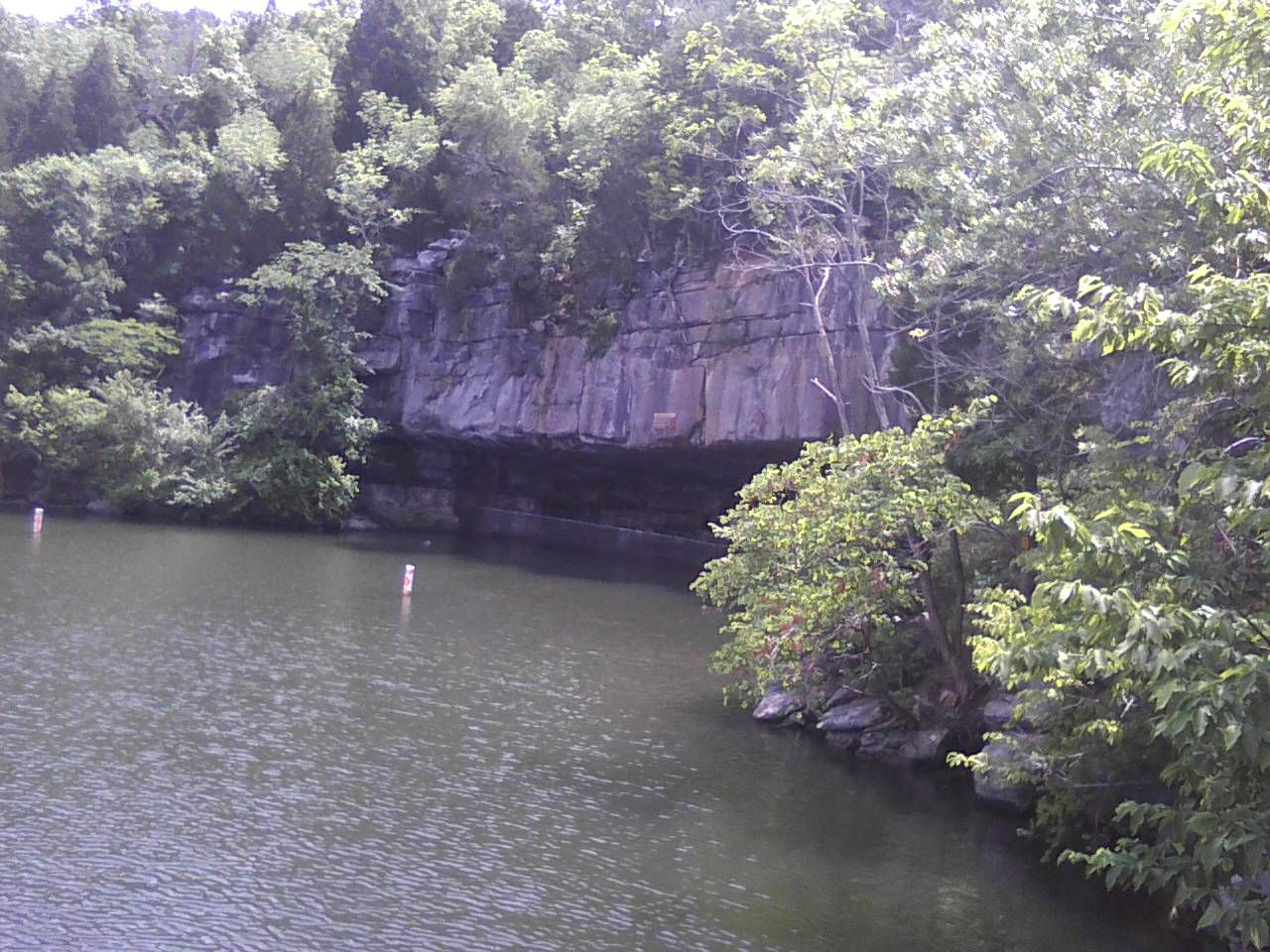 Tennessee marion county sequatchie - Nickajack Cave Is A Large Partially Flooded Cave In Marion County Tennessee It