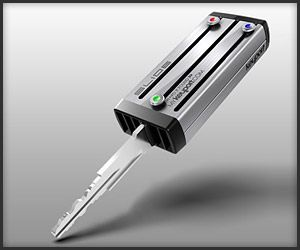 Keyport Slide Key Organizer, they put all your keys into this thing so it's…