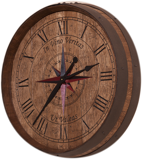 Top 10 Personalized Gifts For Wine Lovers Wine Barrel Clock Clock Gifts For Wine Lovers