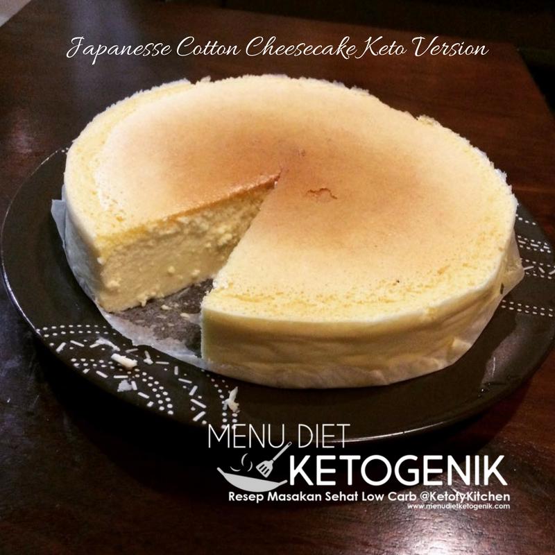 Japanese Cotton Cheesecake Versi Keto Resep Sudah Lama Penasaran Dan Ingin Mencoba Membuat Cheesecake Akhirnya Kesampaian Juga Resep Low Resep Keto Makanan