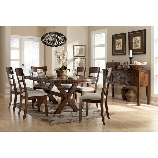 Dining Room Furniture  Aran 5Piece Casual Dining Package  Ideas Awesome Ashley Dining Room Table Set Inspiration Design