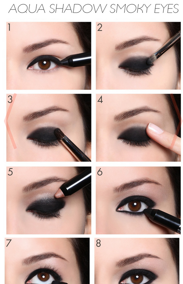 Simple and super cute smokey eye makeup. Love this makeup look ...