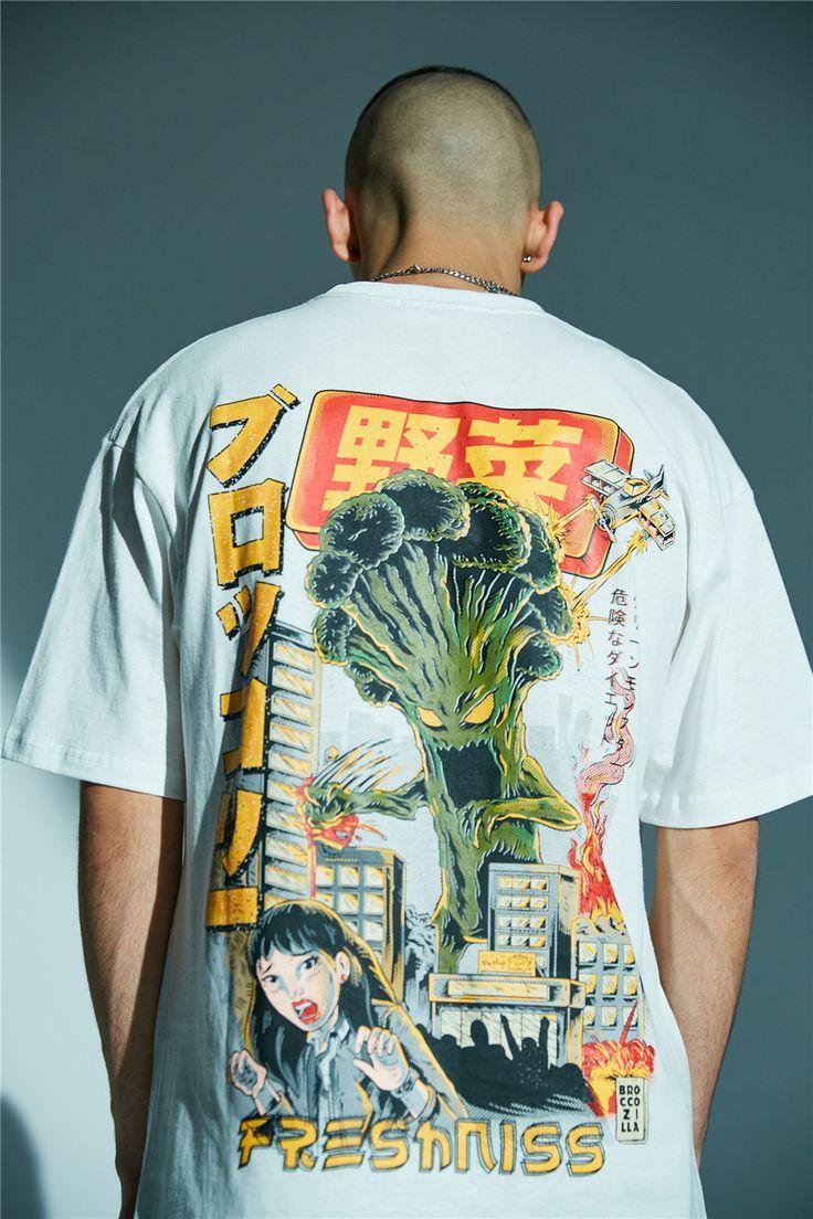Anime graphics tshirt d01 vaguestar aesthetic