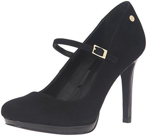 6c9e3c9b35 Calvin Klein Women's Calynda Dress Pump, Black, 6 M US Ca... | Heels ...