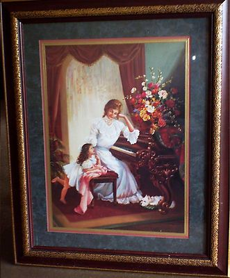 """This is a great Home Interiors picture titled """"Mother May ..."""