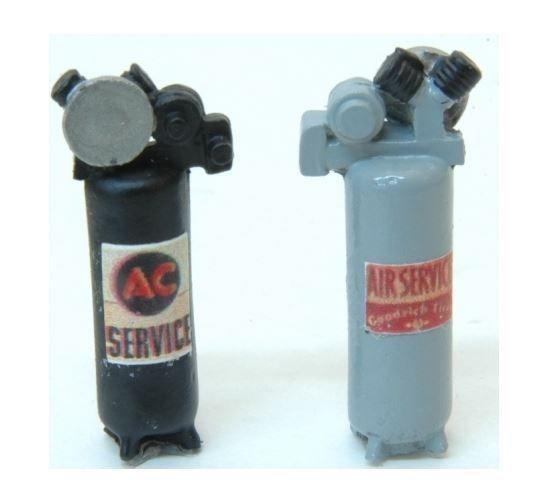 JL INNOVATIVE Custom Air Compressors (2) Model Details 1/87 HO Scale NEW #436 #JLInnovative