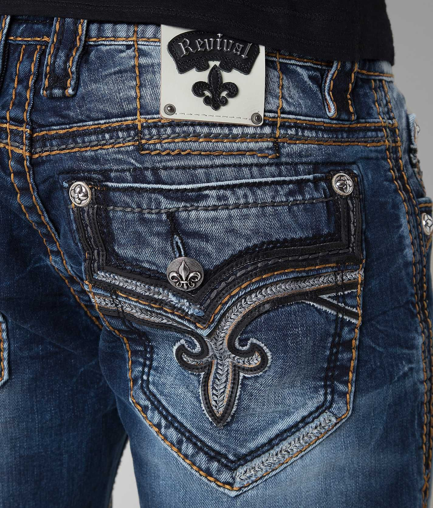 421091126f8 Rock Revival Foxe Relaxed Straight Jean - Men s Jeans