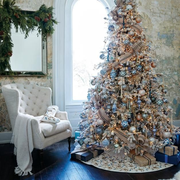 How To Make Your Christmas Tree Look Stunning For Less With Ornaments From The Dollar Tree Walmart Amazing Christmas Trees White Christmas Decor Holiday Decor