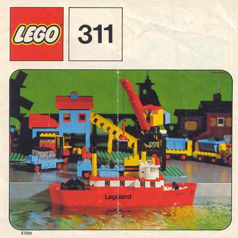 BrickLink Reference Catalog - Set 311-1 | 00 Lego Box or cover ...