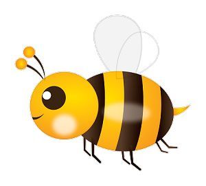 bee emoji | Bumble Bee Emoji Sticker from StuckonEmojis com