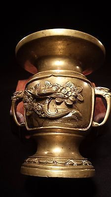 antiques gifts small antique chinese brass vase collectors antique china small gifts