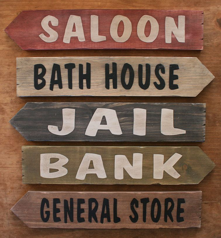 Rustic Western Signs, Custom made pine wood signs, western décor ,Personalized wanted signs,
