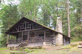 Pa Dcnr Cook Forest State Park Log Cabin Rustic Cabin Rustic Cabin