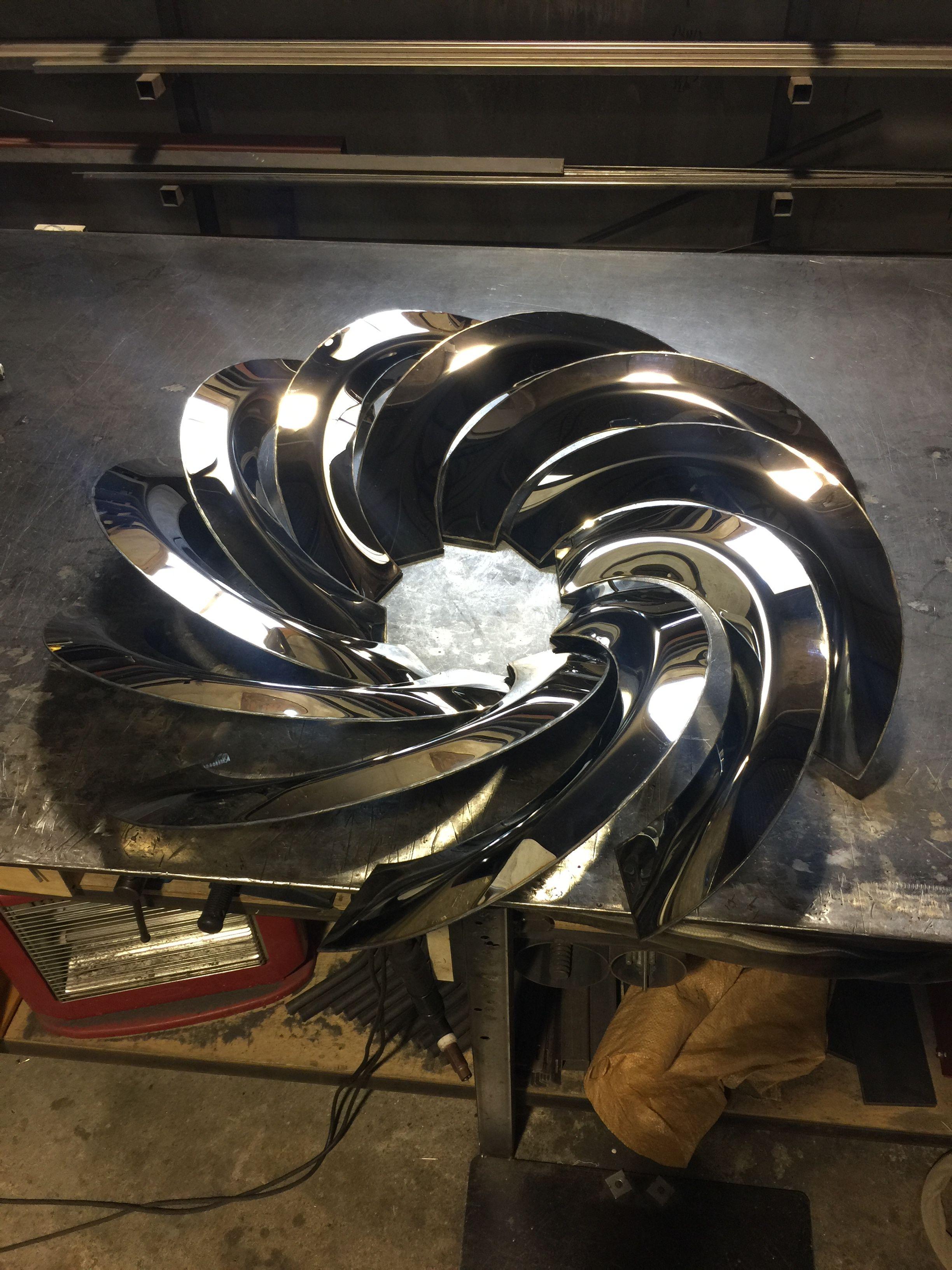 www.koamstudio.com #Inside,#sculpture,#art,#metal,#steel,#koam