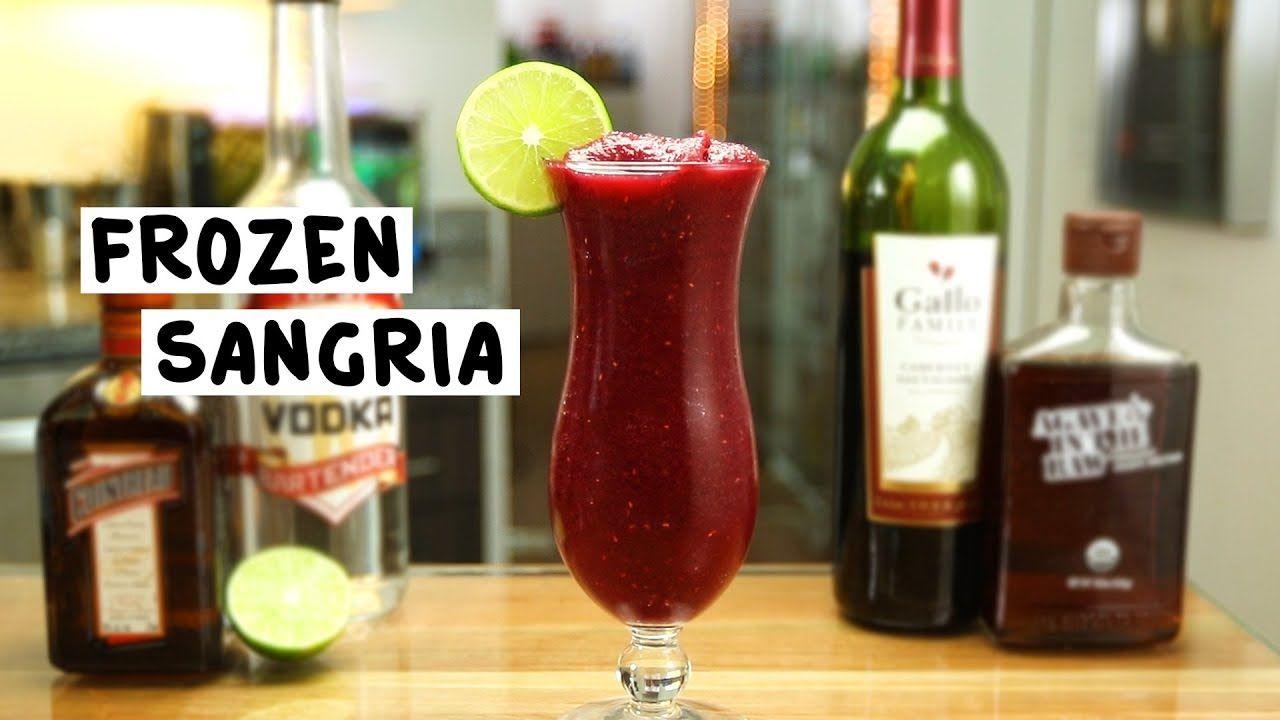 Frozen Sangria Tipsy Bartender Recipe Frozen Sangria Dry Red Wine Sangria Drink
