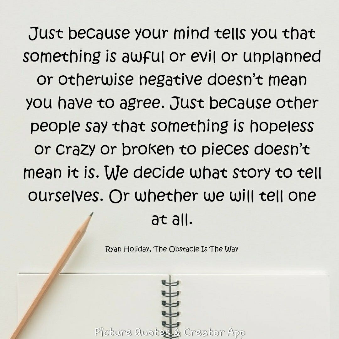 Ryan Holiday The Obstacle Is The Way Life Hack 5 Be Impeccable