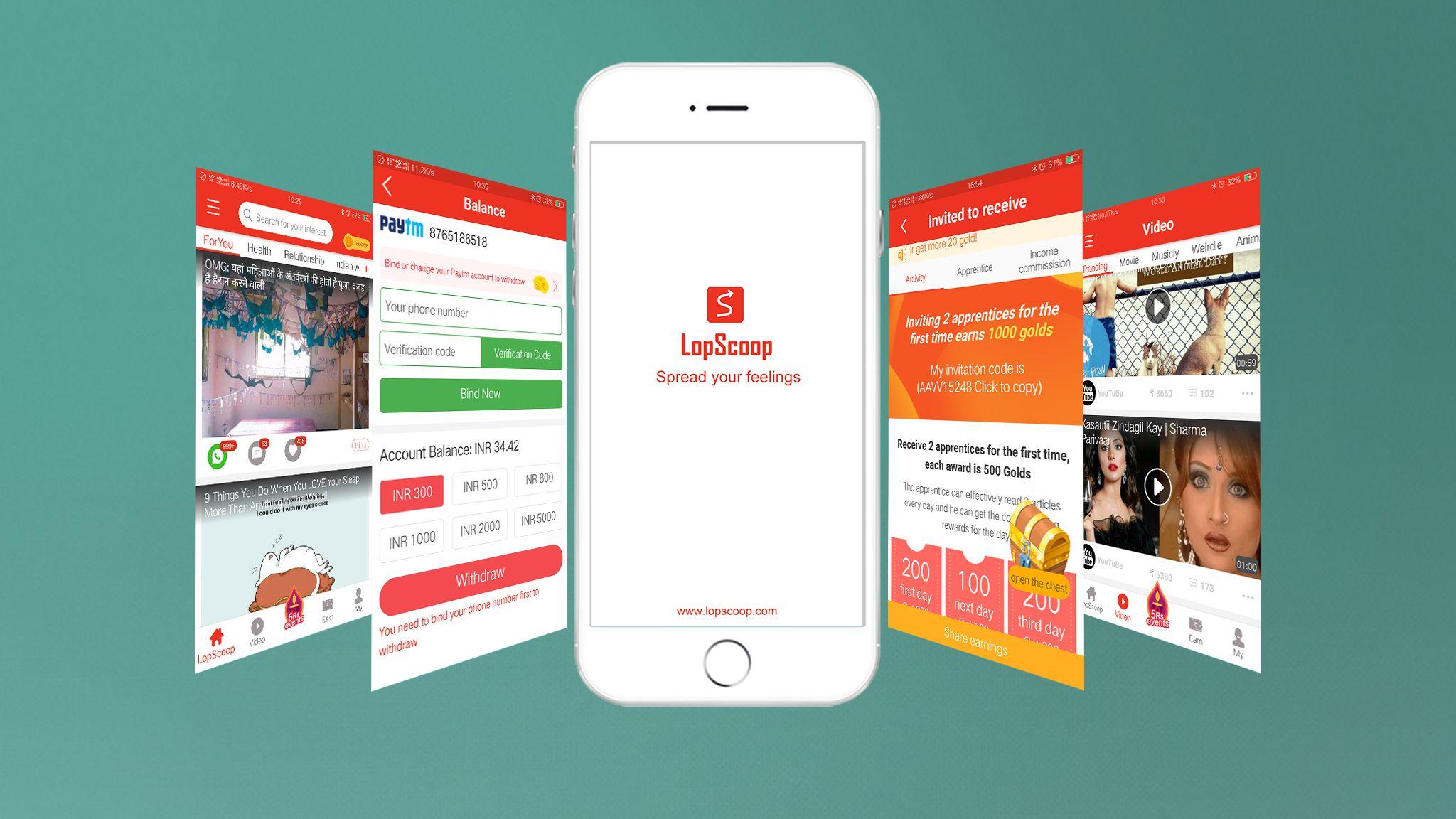 Lopscoop is India's best news app (न्यूज़ ऐप ) and