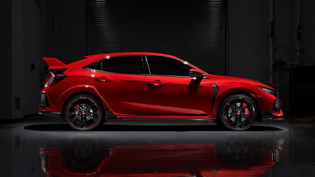 Red Honda Civic Type R Side View Car Wallpaper Honda Civic Type R Honda Civic Honda Civic Sport