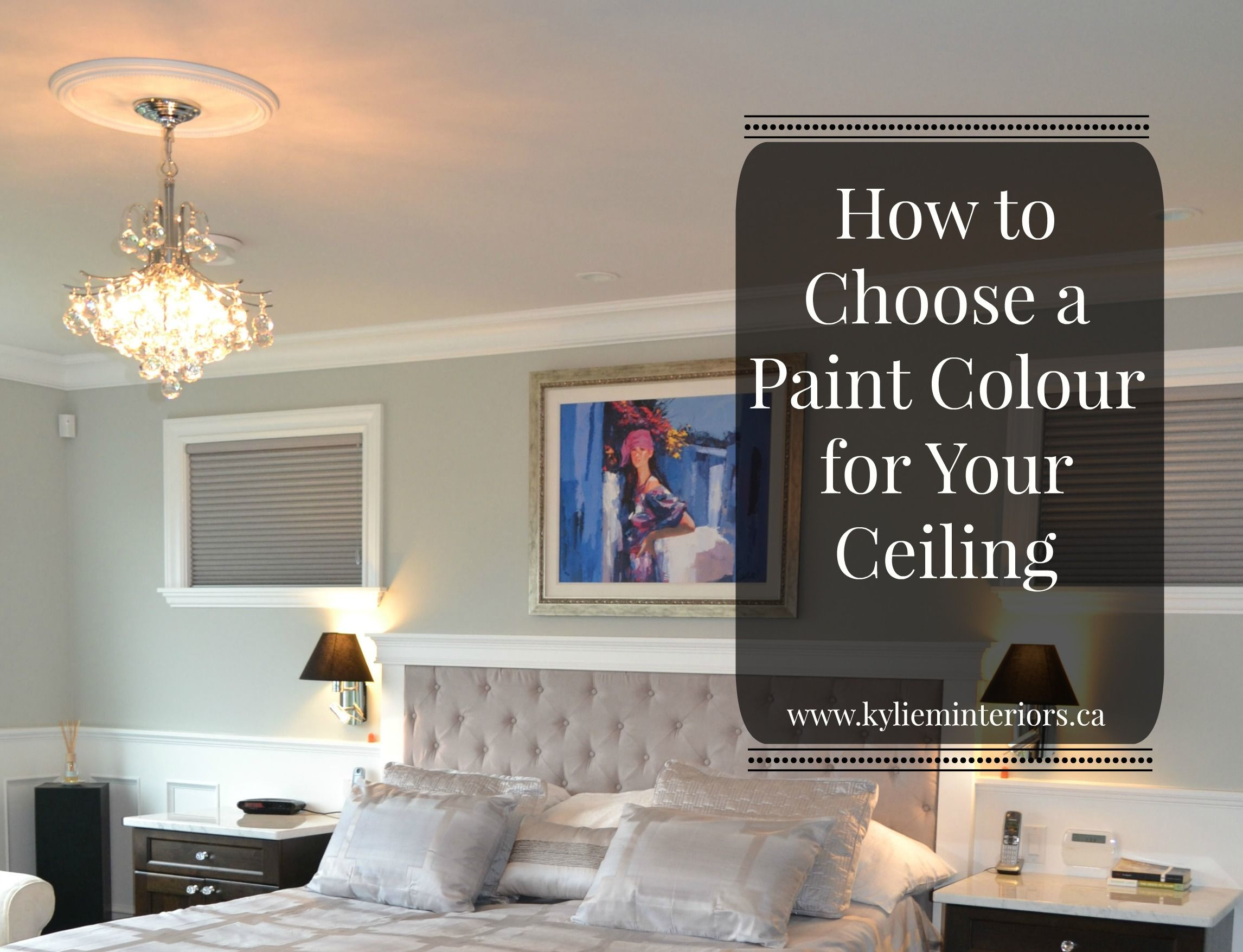 How To Choose A Paint Colour For Your Ceiling Do You Match The Trim Or
