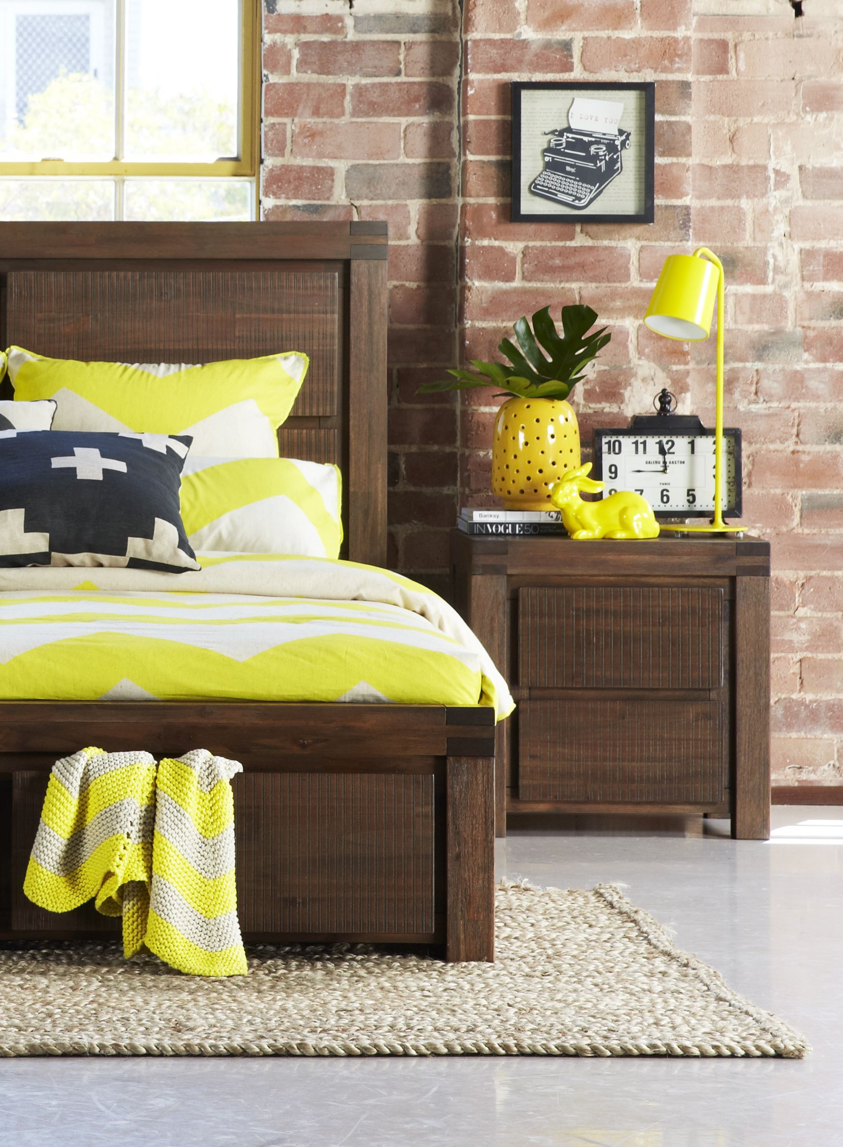 The Cooma Rough Sawn Solid Timber Bedroom Suite With Storage And Bold Classic Lines From Bedshed Bedroom Furniture Beds Bedroom Bedroom Furniture
