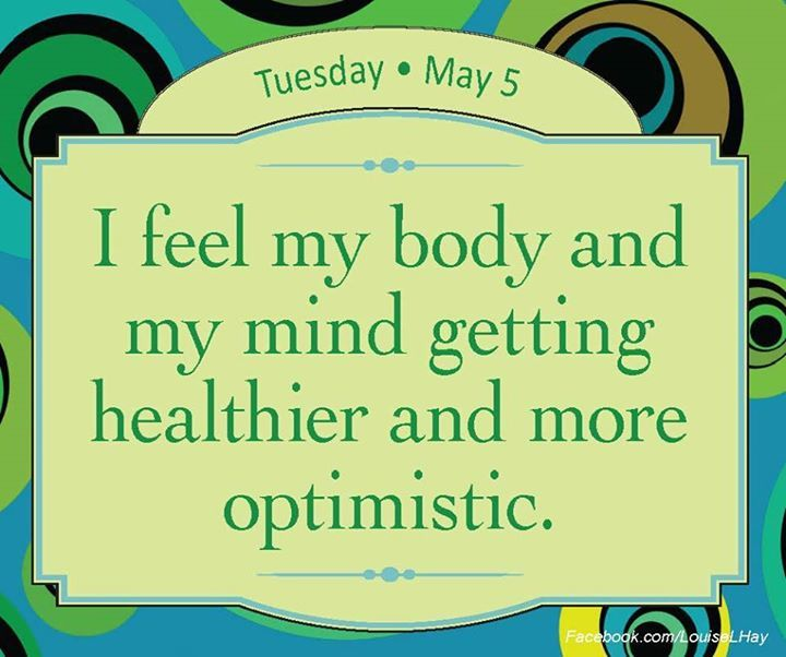 my body and my mind...
