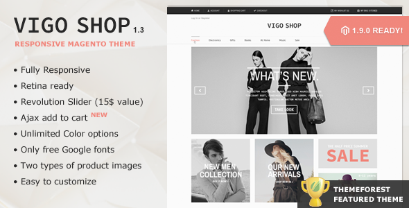 This Deals Vigo Shop - Premium Responsive Magento ThemeYes I can say you are on right site we just collected best shopping store that have