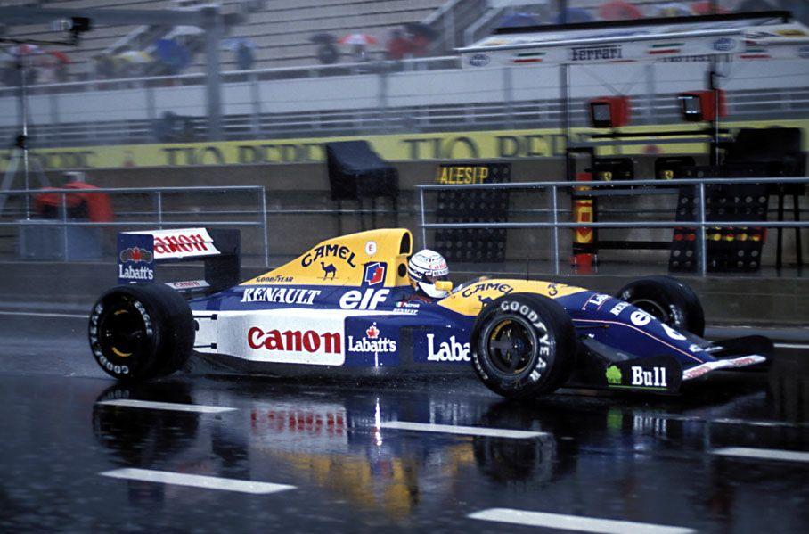 Image result for 1992 barcelona grand prix