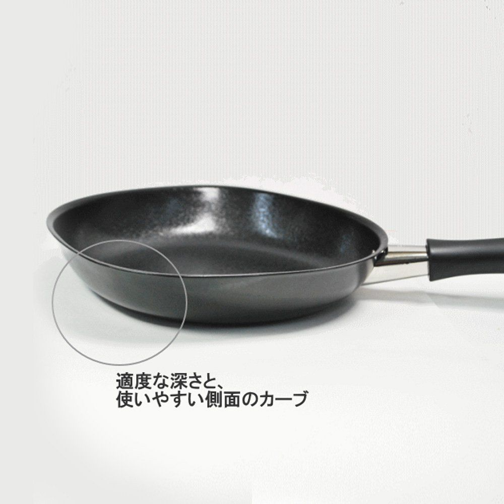 sori yanagi iron frying pan with lid 18cm made in japan frying