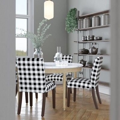 Prime Hendrix Dining Chair Black White Check Cloth Co Adult Squirreltailoven Fun Painted Chair Ideas Images Squirreltailovenorg