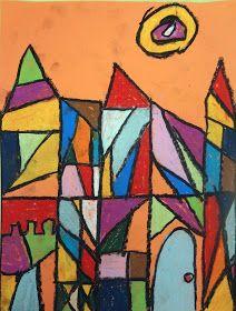 The Talking Walls: Paul Klee Cubism Castles!