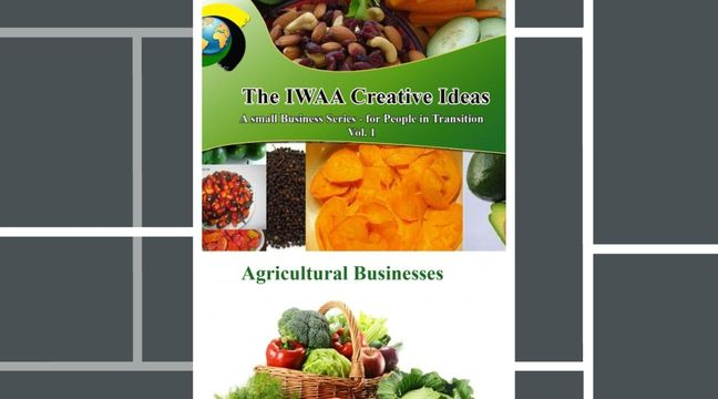 Click on Picture to watch Video.This Well Researched Agricultural Business (Video) Book . Click on Picture to Watch Video. This Book Will Show you how to Maximize the use of your Land. You will also learn How to Transform Crops into other products and Create a New line of Products, Expand your Market and Business. It does not Matter Where in the World you live, this Book will Open your Eyes  and Inspire You. Get your copy - Go to- www.patienceawazi.com