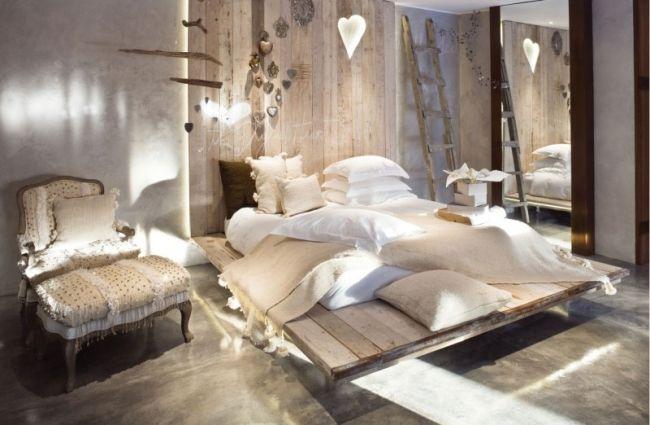 Luxus Hotel Zimmer-Deko rustik-modern klassik Eklektik - schlafzimmer luxus modern