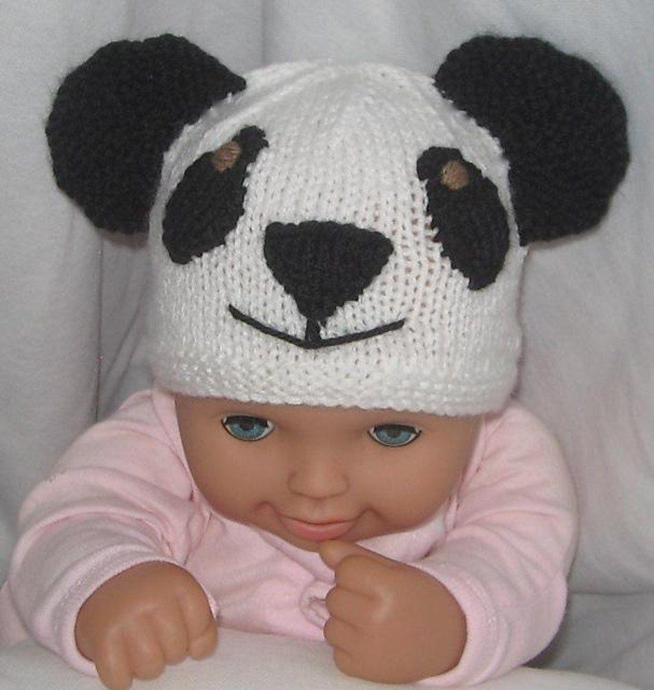 Koala & Panda Beanies / Hats   Knitting patterns, Panda and Beanie ...